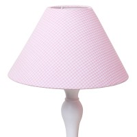 Babyface Pink Gingham Lampshade