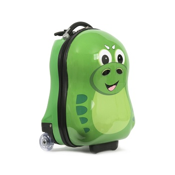 P-Rex the Dinosaur Cutie hard trolley case from the Cuties and Pals