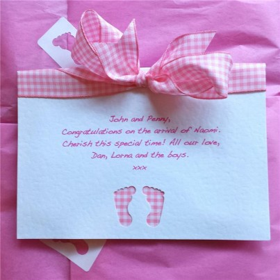 Baby girl cupcake gift set - Super Deluxe in 0-3 or 3-6 months