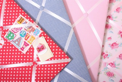 Babyface Blue Gingham Message Board
