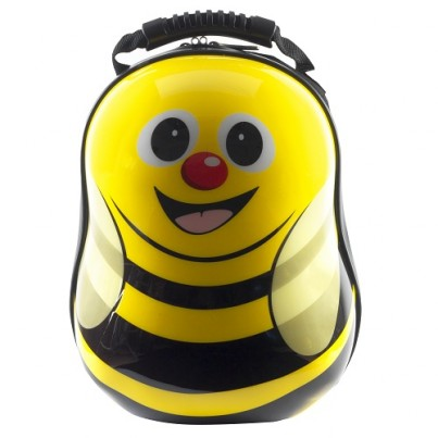 Cazbi the Bee hard shell backpack from the Cuties and Pals