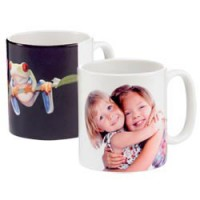 Ceramic mug - Personalised with your own text & pictures.