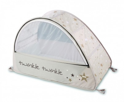 POP UP TRAVEL BUBBLE COT - SUN & SLEEP