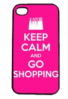 Keep Calm and Go Shopping IPhone Case Will Fit iPhone 4, 4s & 5