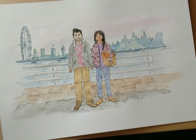 Personalised Watercolour
