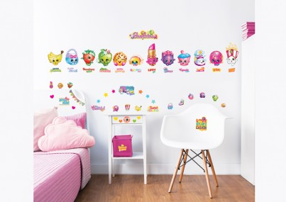 Shopkins Wall Stickers