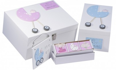 Freya Design Baby Christening naming Keepsake Memory Box Range