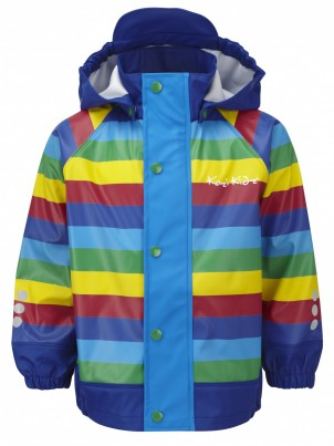 Koster Rain Jacket Unlined Rainbow