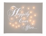 Happily Ever After - Illuminated Canvas