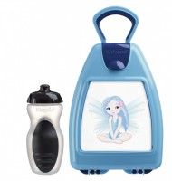 Blue lunchbox with fairy