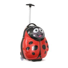 Polka the Ladybird Cutie hard Trolley case from the Cuties and Pals