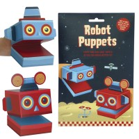Create your own Robot Puppets