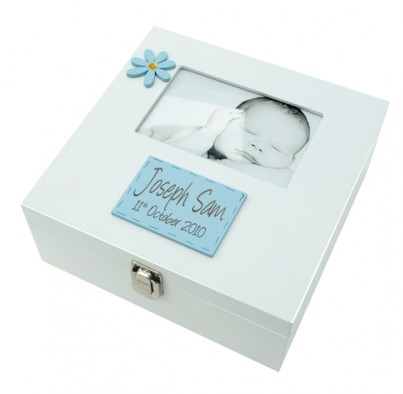 MEMORY BOX BOY WITH 6X4 PHOTO FRAME