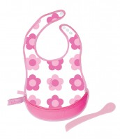 b.box The ESSENTIAL TRAVEL BIB - Pink