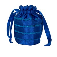 Kingfisher Blue Ballgown bag