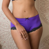 Mezzanotte Brief - Purple