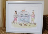 Personalised Watercolour Painting