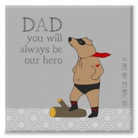 Superbear Personalised Canvas