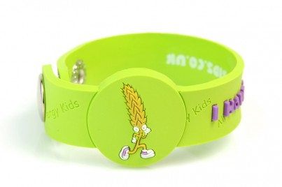 """I Have A Wheat"" Allergy Awareness wristband"