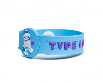 """Type 1 Diabetes"" Awareness wristband"