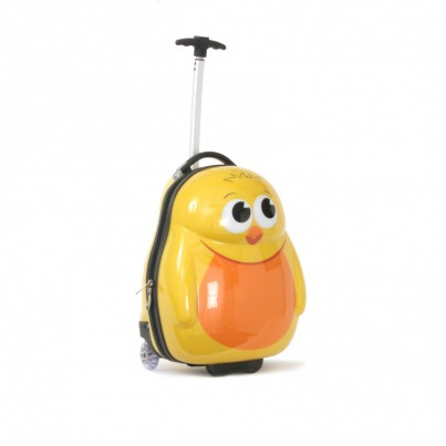 Chico the chick Cutie hard Trolley Case and Back pack set from the Cuties and Pals