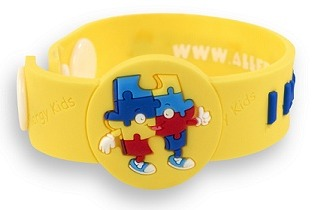 """I Have Autism"" Awareness wristband"