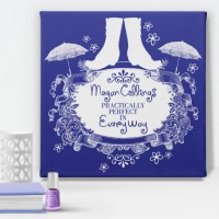 Practically Perfect Personalised Canvas