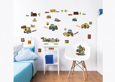 My First JCB Wall Stickers