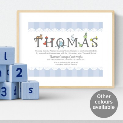 Personalised meaning of the name photo fairy tales alphabet meaning of name print negle Gallery