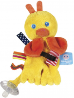 Pacifier Cuddle Flo  Flo (yellow)