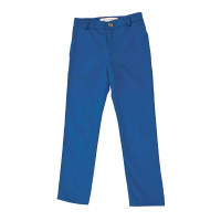 GIRLS ROYAL BLUE SKINNY TROUSERS