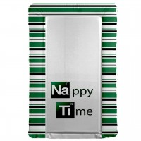 BREAKING BAD  themed changing mat -  NAPPY TIME