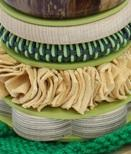 Pistachio Stacking Hoops