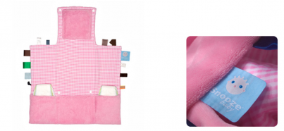 Changing pad - Easy Changing (70x50cm) Elephant Pink