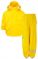 PU Essential Rain Set Unlined Fisherman Yellow