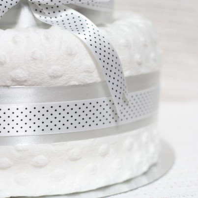 Award Winning Luxury Zebra Nappy Cake - 5 Stars