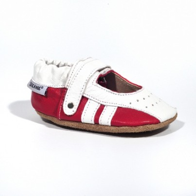 Infant Sporty Sandals - Red & White