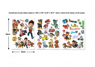 Paw Patrol Wall Stickers