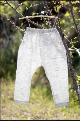 LINEN TROUSERS WHITE