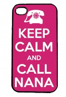 Keep Calm and Call Nana IPhone Case Will Fit iPhone 4, 4s & 5
