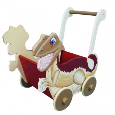 Teamson Dinasaur Push cart