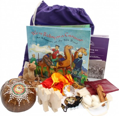 The 'We're Riding on a Caravan' Sensory Tale comes complete with exciting and unusual artefacts.  The precious stones, silk and spices will make you feel like you are part of the story as you 'clip-clop' through ancient China. Includes activities and artefacts.