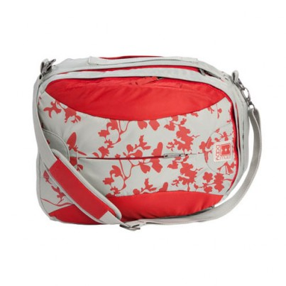 Babymule original - Red / grey pattern