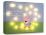 George Pig jumping in Muddy Puddles - Personalise Yours Today