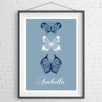 Blue Butterfly Trio
