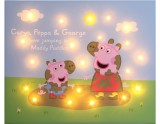 Peppa & George jumping in Muddy Puddles - Personalise Yours Today
