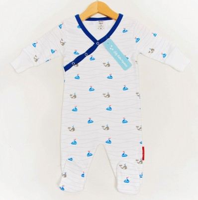 Boats and Whales Romper
