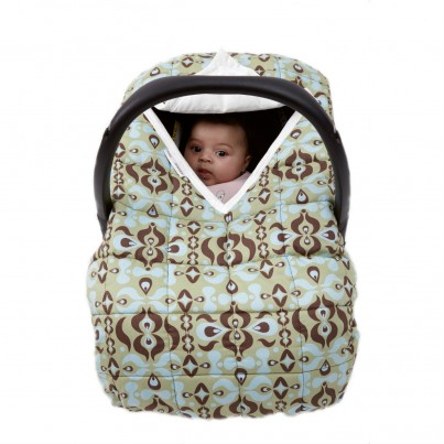 Travel Cover Green Wallpaper Cosy Car Seat Cover for Group 0 infant car seat