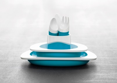 TODDLER CUTLERY SET - BLUE
