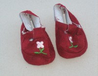 Dolls Shoes - Bordeaux Light Sandles